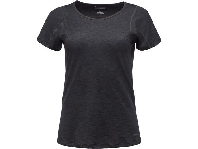 Black Diamond Rhythm Camiseta Mujer, black